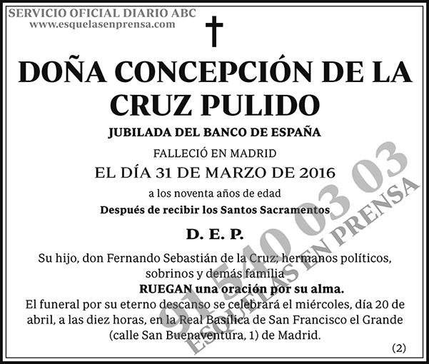 Concepción de la Cruz Pulido
